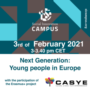 CASYE participates in the Social Innovation Campus 2021